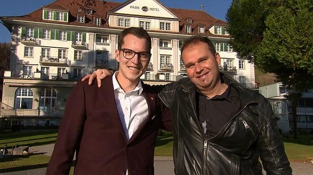 Video «Berner Oberland – Tag 2 – Restaurant Parkhotel, Gunten» abspielen