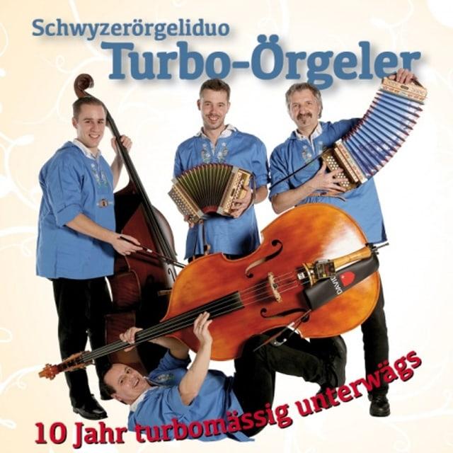 Die Turbo-Örgeler auf dem Cover ihrer aktuellen CD.