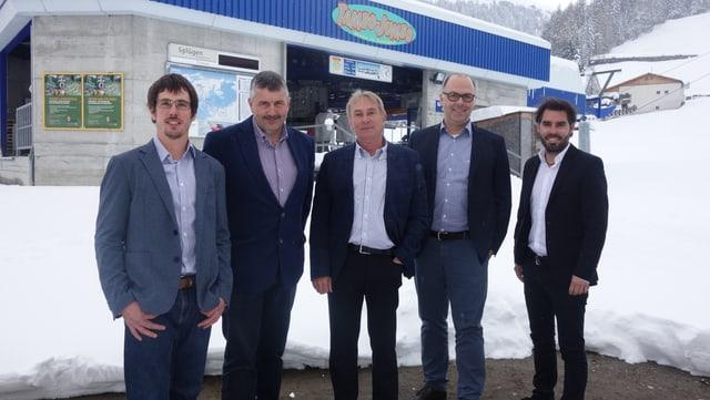 Da san., nov cuss. adm.: Renato Mengelt, Hans Andrea Fontana, Karl Liechti, Franco Quinter (president), Ivo Frei.