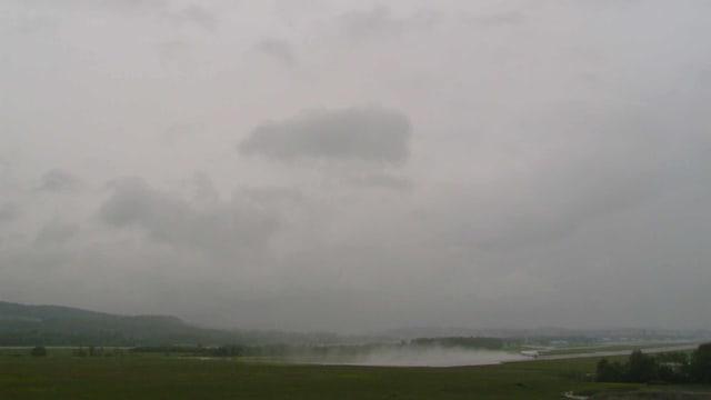 Nimbostratus-Wolke