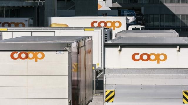 Coop-Lastwagen