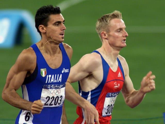 Andrea Longos Manöver sorgte dafür, dass André Bucher auf der Zielgerade die Kräfte ausgingen.