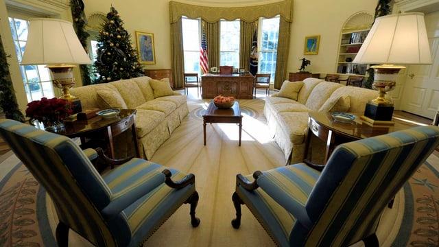 Bild vom Oval Office.