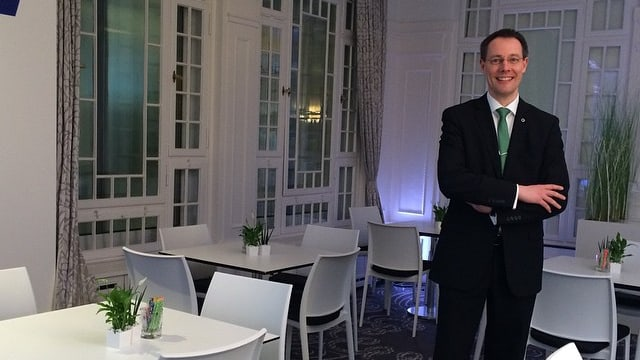Thomas Kleber, Direktor des Hotel Belvédère