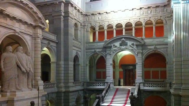 Eingangshalle Parlamentsgebäude