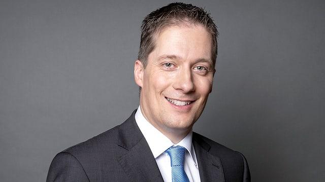 Der Riehener Gemeinderat Daniel Albietz