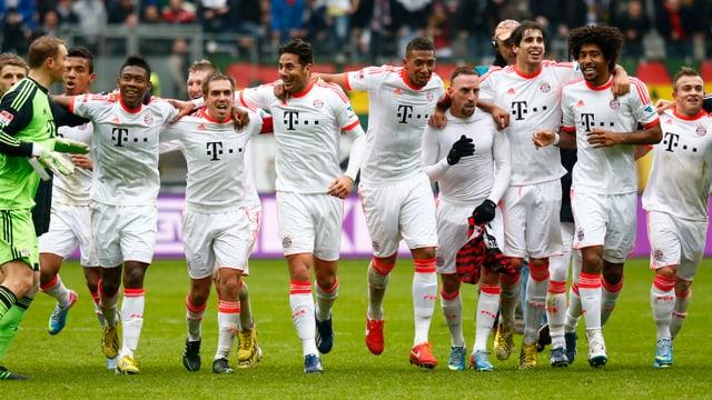 An den Bayern gab es in dieser Saison kein Vorbeikommen.