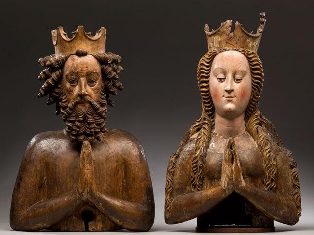 Reliquienbüste des Kaiserpaars Heinrich II. und Kunigunde