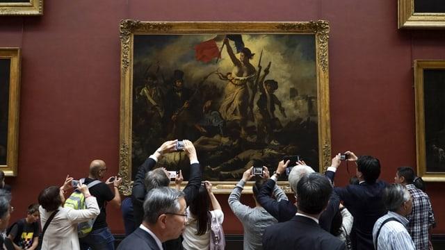 Gemälde im Museum