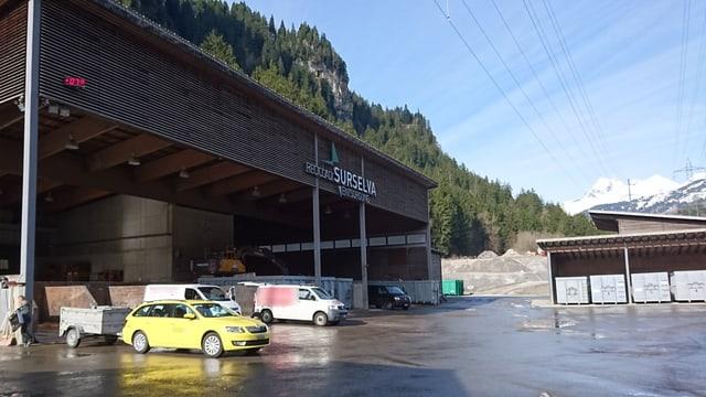 La primavaira è stagiun auta per la deponia Plaun Grond a Rueun.