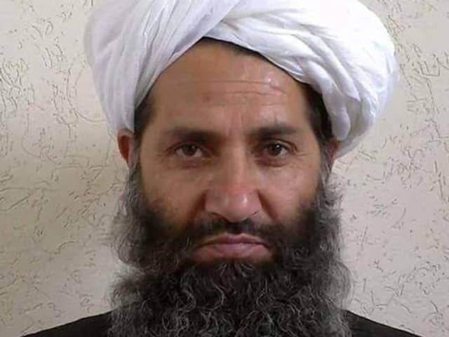 Ein angebliches Porträtfoto von Mullah Haibatullah Achundsada.
