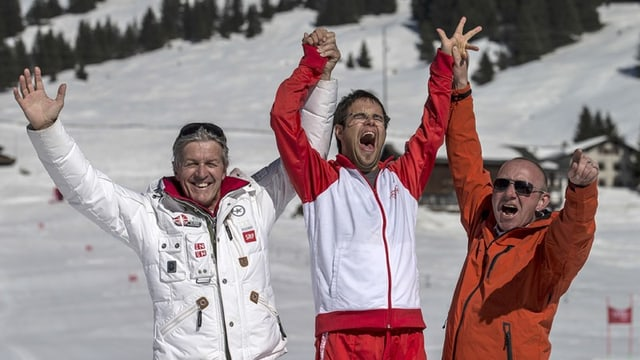 Bernhard Russi (sanester) cun in victur dals davos National Winter Games.