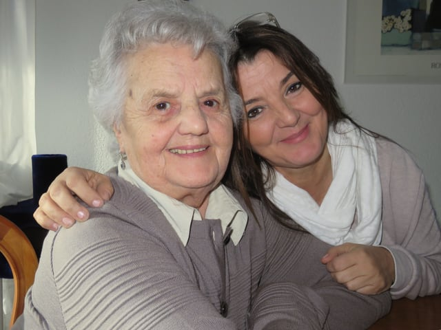 Maria Infantino und Daniela Infantino.