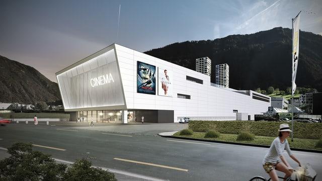 Il project per il center da kino a Cuira vest.