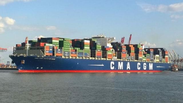 Das Containerschiff «Vasco da Gama»