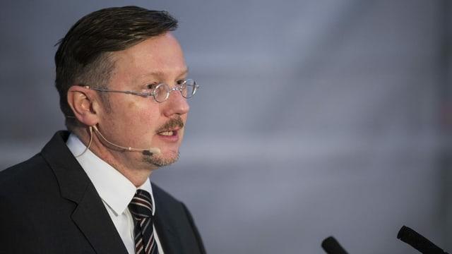 Marc Fehlmann, freigestellter Museumsdirektor