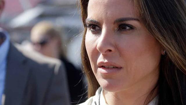 Die mexikanische Schauspielerin Kate del Castillo.
