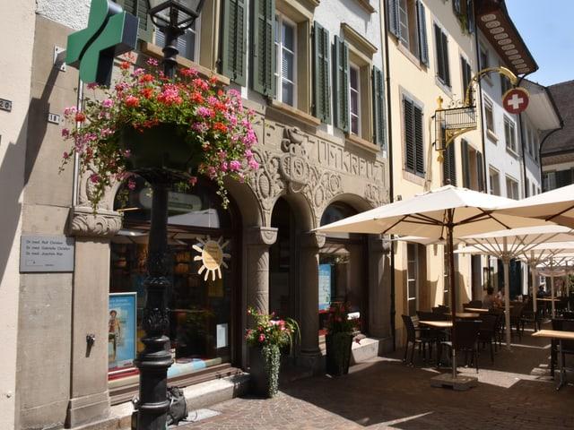 Die Kreuzapotheke in der Oltner Altstadt.