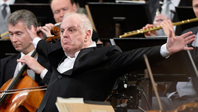 Barenboim in Aktion