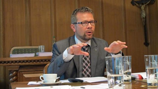 Finanzdirektor Thomas Rechsteiner.