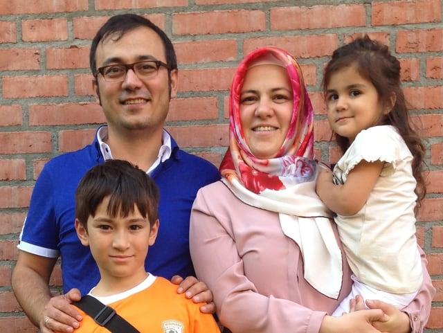 Familie von Dilek Ucak Ekinci: zwei Kinder.