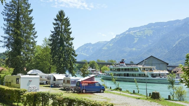 Campingplatz Interlaken.