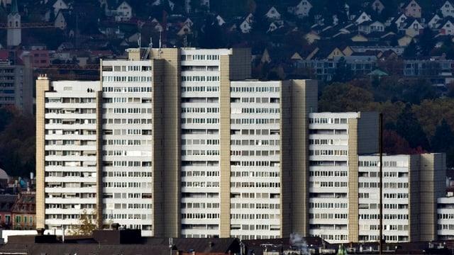 Das Lochergut in Zürich: