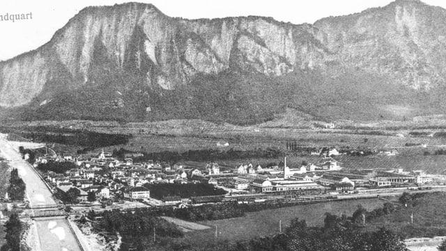 Landquart 1910.