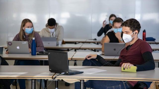 Studierenden der Eidgenössischen Hochschule für Sport in Magglingen.