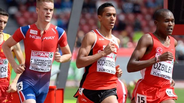 Jan Hochstrasser konnte im Vorlauf über 1500 Meter an der Leichtathletik-EM nicht seine Bestleistung abrufen.