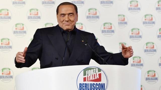 Silvio Berlusconi (Forza Italia): Für viele immer noch Garant für Recht und Stabilität