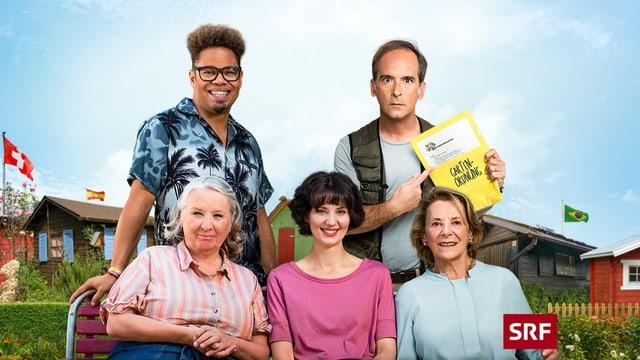 Mit dem SRF Schweizer Film «Eden für jeden» hat Regisseur Rolf Lyssy seinen ersten TV-Film realisiert.