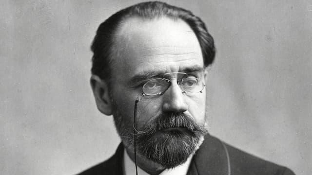 Porträt Émile Zola