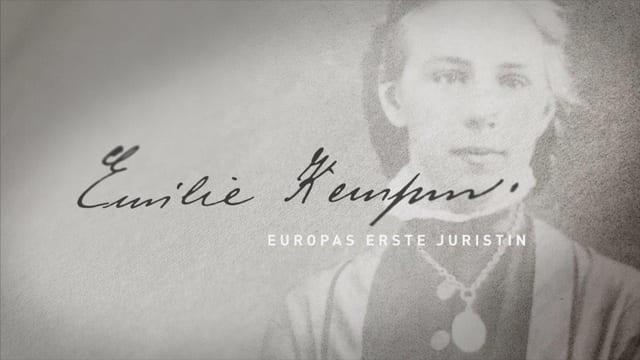 Emilie Kempin-Spyri (1853-1901) war die erste Frau, die in Zürich als Juristin promoviert wurde und habilitierte.