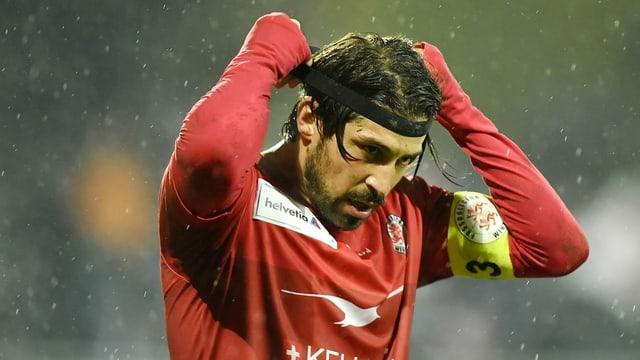 Davide Calla will mit seiner Mannschaft in den Cup-Halbfinal einziehen.