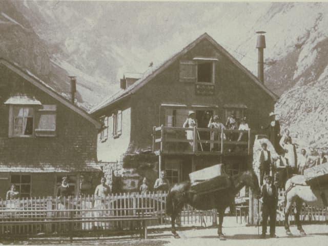 Altes Gasthaus Meglisalp