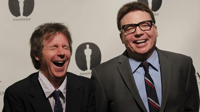 Die Komiker Dana Carvey und Mike Myers