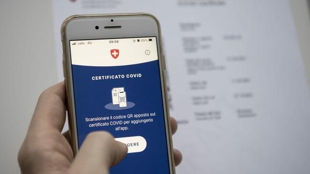 App per il certificat da covid.