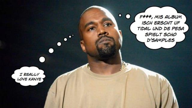 Kanye West macht sich Gedanken.