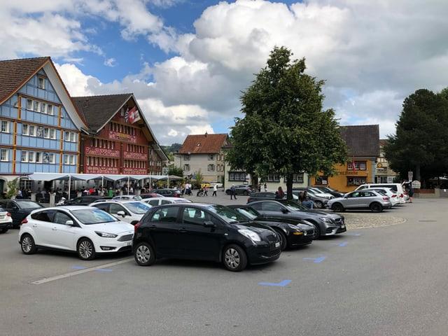 Landsgemeindeplatz in Appenzell