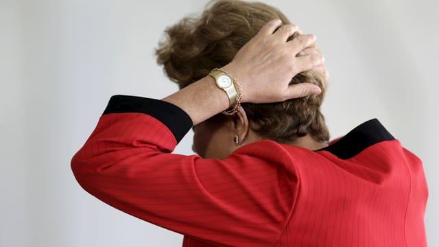 Staatspräsidentin Dilma Rousseff.