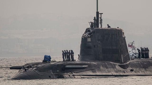 Betroffen von der Kollision war ein Jagd-U-Boot des Typs «Ambush».