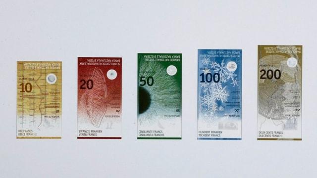 Neue Banknoten.