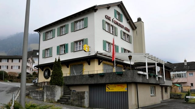 Das Bild zeigt das Restaurant Mühle in Schattdorf
