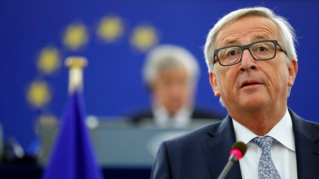 Jean-Claude Juncker, il president da la cumissiun da l'UE