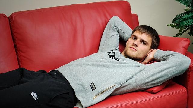 Lettlands bester Torschütze Valerijs Sabala.