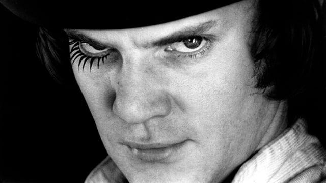 Clockwork Orange von Stanley Kubrick hält einen der unheimlichsten Soziopathen der Filmgeschichte bereit.