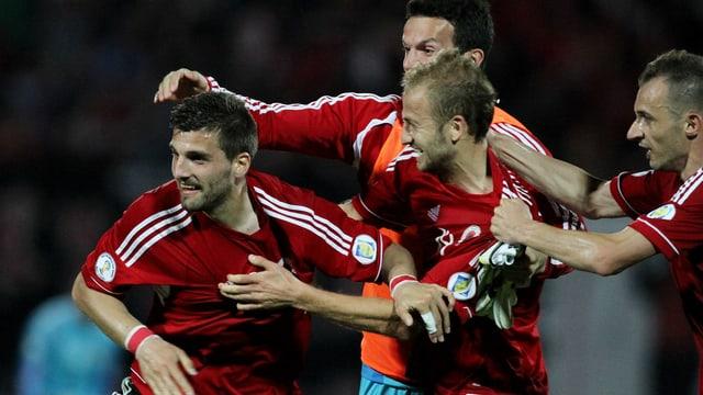 Albaniens Chancen auf ein WM-Ticket sind intakt.