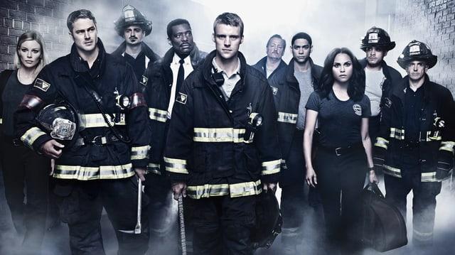 Die Hauptdarsteller der Serie «Chicago Fire»