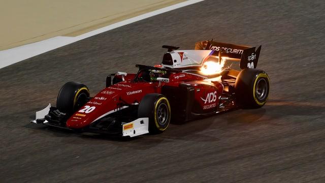 Delétraz im Charouz-Boliden beim GP Bahrain im letzten April.
